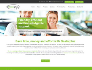 dealerplus.co.uk screenshot