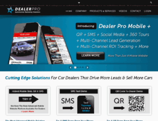 dealerpro.biz screenshot