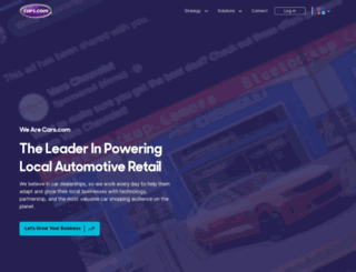 dealers.cars.com screenshot