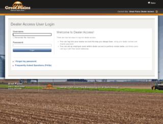 dealers.greatplainsmfg.com screenshot