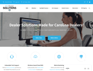 dealersolutionssoftware.com screenshot