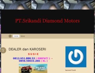 dealersrikandidiamondmotors.wordpress.com screenshot