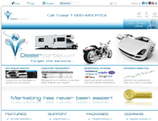 dealervortex.com screenshot
