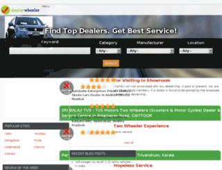 dealerwheeler.kprofessionals.com screenshot