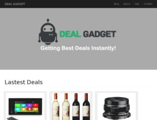 dealgadget.net screenshot