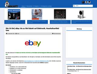 dealgott.de screenshot