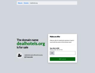 dealhotels.org screenshot
