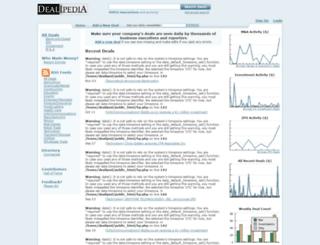 dealipedia.com screenshot