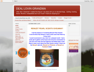 deallovingrandma.blogspot.com screenshot
