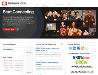 dealmakermedia.com screenshot