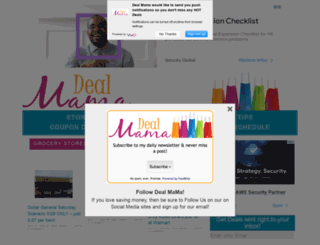 dealmama.com screenshot