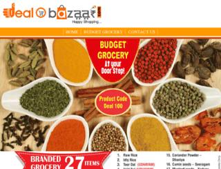 dealobazaar.com screenshot