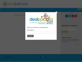 dealpalooza.com screenshot