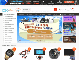 deals.dx.com screenshot