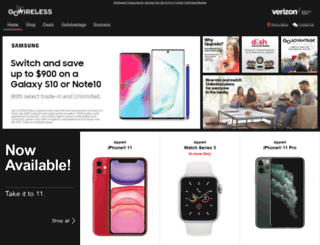 deals.gowireless.com screenshot