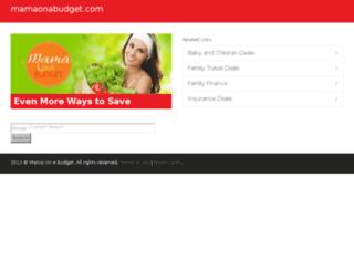 deals.mamaonabudget.com screenshot
