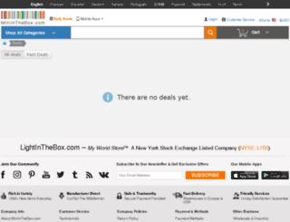 deals.miniinthebox.com screenshot