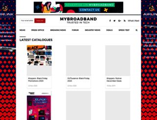deals.mybroadband.co.za screenshot