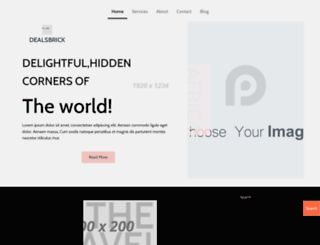 dealsbrick.com screenshot