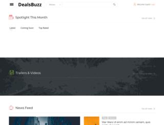 dealsbuzz.in screenshot