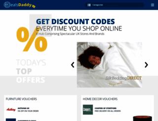 dealsdaddy.co.uk screenshot