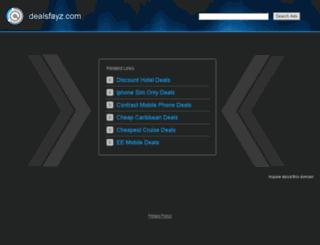 dealsfayz.com screenshot