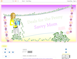 dealsforthepennysavvymom.com screenshot