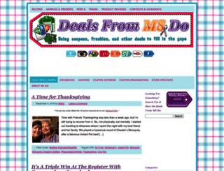 dealsfrommsdo.com screenshot