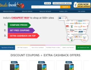 dealshunk.com screenshot