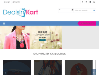 dealsinkart.com screenshot