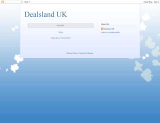 dealslandsatuk.blogspot.in screenshot