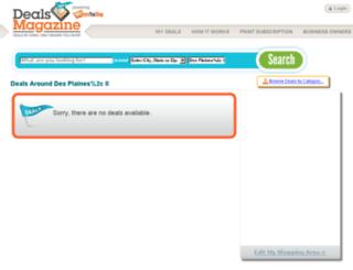 dealsmagazine.com screenshot