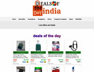 dealsofthedayindia.com screenshot