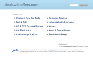 dealswithoffers.com screenshot