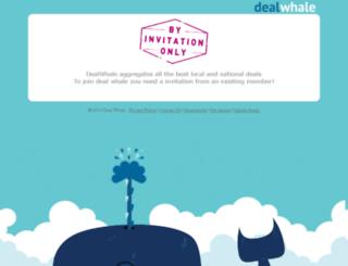 dealwhale.net screenshot