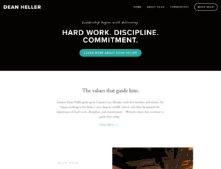 deanheller.com screenshot