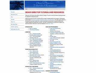 deansdirectortutorials.com screenshot