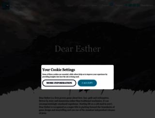 dear-esther.com screenshot