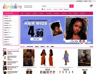 dear-fashion.com screenshot