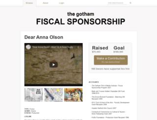 dearannaolson.com screenshot