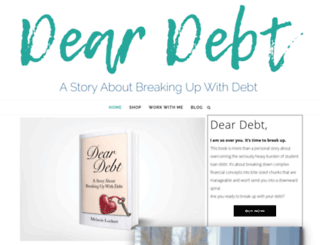 deardebt.com screenshot