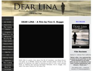 dearlina.com screenshot
