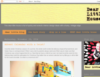 dearlittlehouse.com.au screenshot