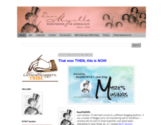dearmyrtle.com screenshot