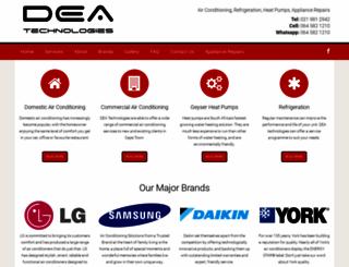 deatech.co.za screenshot