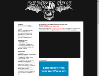 deathbatnews.com screenshot