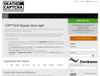 deathbycapcha.com screenshot
