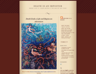 deathisanimpostor.com screenshot