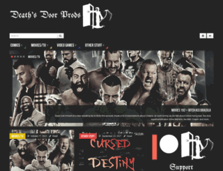 deathsdoorprods.com screenshot