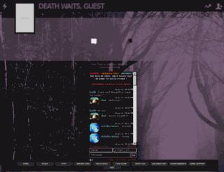 deathwaits.b1.jcink.com screenshot